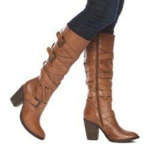 Steve Madden Renegaid Leather Boots